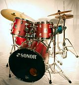 Just a cool drum set