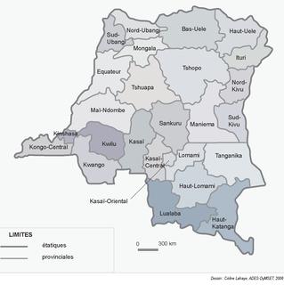 Provinces of the Democratic Republic of the Congo