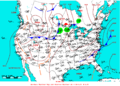 2007-08-11 Surface Weather Map NOAA.png