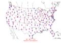 2008-01-19 Max-min Temperature Map NOAA.png