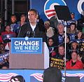 20081102 Obama-Springsteen Rally in Cleveland 2 (cropped1).jpg