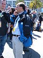 2008 Olympic Torch Relay in SF - media 03.JPG