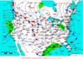 2009-02-15 Surface Weather Map NOAA.png