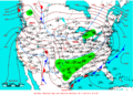 2009-03-12 Surface Weather Map NOAA.png