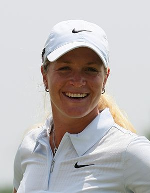 Suzann Pettersen - Pettersen at the 2009 LPGA Championship