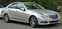2009 Mercedes-Benz E 250 CGI (W 212) Avantgarde sedan (2010-07-05).jpg