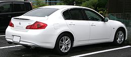 2010 NISSAN SKYLINE SEDAN 250GT rear.jpg
