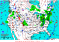 2012-02-11 Surface Weather Map NOAA.png