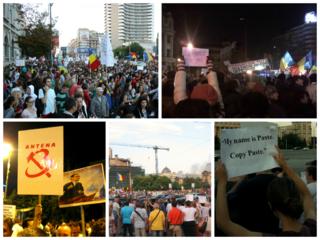 2012–2015 unrest in Romania Protests against civil unfairity