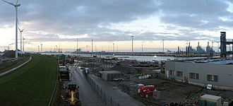 Eemshaven - Port area