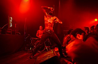 Death Grips American hip-hop industrial band