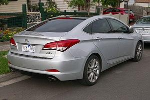 Hyundai i40 - Hyundai i40 sedan (Australia; pre facelift)