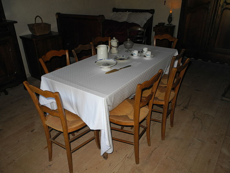 This file was uploaded  with Commonist.    Dans le Musée des maisons comtoises à Nancray.