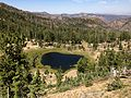 2013-08-09 11 30 57 View of Jarbidge Lake in Nevada from the first few feet of the Cougar Mountain Trail.jpg
