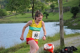 Pippa Maddams British mountain runner