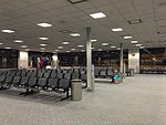 2015-04-14 00 18 29 The outer end of Concourse E in Salt Lake City International Airport, Utah.jpg