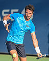 2015 US Open Tennis - Qualies - Jose Hernandez-Fernandez (DOM) def. Jonathan Eysseric (FRA) (20780394099).jpg