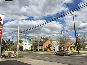 Washington, Louisiana - Image: 2016 03 22 16 15 56 The intersection of De Jean Street (Louisiana State Route 103) and Main Street (Louisiana Route 182) in Washington, Louisiana
