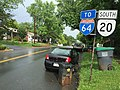 2016-06-03 17 24 55 View south along Virginia State Route 20 (Monticello Avenue) near Church Street in Charlottesville, Virginia.jpg