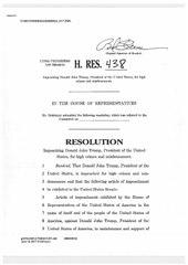 Will the senate impeach trump?
