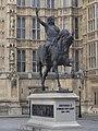 2017 Statue of Richard I, Westminster.jpg
