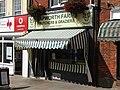 2018-08-08 Papworths butcher shop, Market Place, North Walsham.JPG