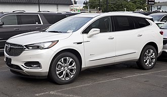 Buick Enclave - The top-of-the-range Enclave Avenir