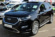 Ford Edge Towing Capacity >> Ford Edge - Wikipedia
