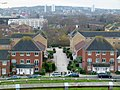 2018 Thamesmead West, view from Gallions Hill 04.jpg