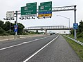 2019-06-05 16 20 33 View east along Interstate 195 (Metropolitan Boulevard) at Exit 1B (Maryland State Route 170 SOUTH, Odenton, Rental Car Return) in Stony Run, Anne Arundel County, Maryland.jpg