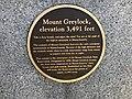 2019-09-22 10 06 52 Plaque on the summit of Mount Greylock in Adams, Berkshire County, Massachusetts.jpg