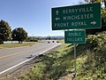 2019-10-15 10 55 45 View east along Virginia State Route 277 (Fairfax Pike) just west of U.S. Route 340 and U.S. Route 522 (Stonewall Jackson Highway) in Double Tollgate, Clarke County, Virginia.jpg