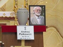 2019.09.11. Andrzej Polkowski funeral Wawrzyszewski Cemetery Warsaw Fot Mariusz Kubik 01.JPG
