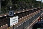 2019 at Tiverton Parkway - west end of platforms.JPG