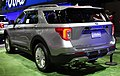 2020 Ford Explorer Limited Hybrid rear NYIAS 2019.jpg
