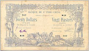 French Indochinese piastre - French Indochina 20 Piastres