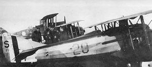 22d Aero Squadron - New 22d Aero Squadron (Pursuit) SPAD XIII, Gengault Aerodrome, August 1918