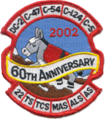 22d Airlift Squadron - 60th Anniversary Patch.png