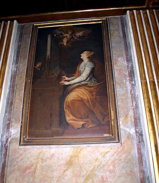 File:2357 - Milano - Sant'Antonio Abate - Controfacciata- S. Cecilia - Foto Giovanni Dall'Orto 20-May-2007.jpg