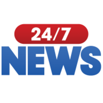 24/7 service - Logo for 24/7 News, an iHeartRadio digital channel