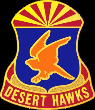 77th Aviation Brigade (United States) - Image: 285 Avn Rgt DUI