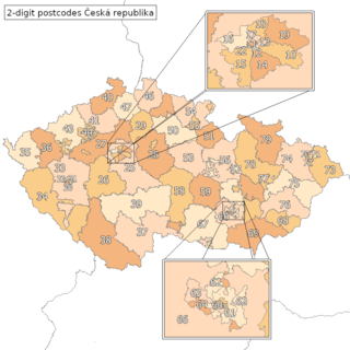 Postal codes in the Czech Republic