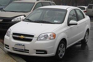 Chevrolet Aveo (T200) - Chevrolet Aveo sedan (T250, US)