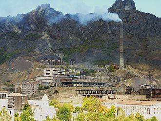 Alaverdi, Armenia - Alaverdi Copper Smelter