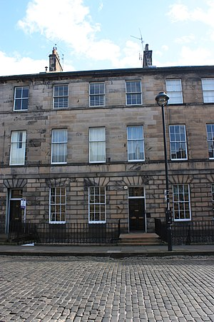 William Beilby (physician) - 33 Great King Street, home of Dr William Beilby