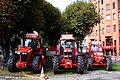 3 John Deere tractors, Circus Monti in Zürich.jpg