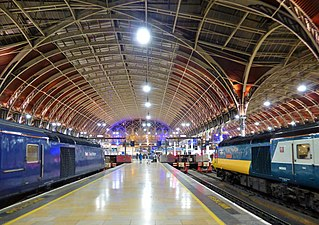 London railway station