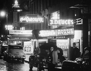 The south side of 52nd Street, between 5th & 6th Avenues – looking ...