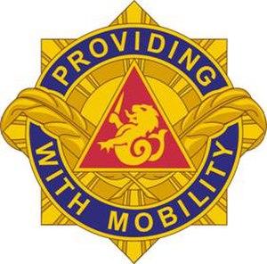 57th Transportation Battalion (United States) - Image: 57Trans Bn DUI