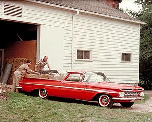 Chevrolet El Camino - 1959 Chevrolet El Camino